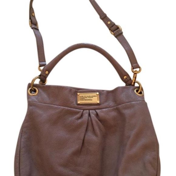 Marc By Marc Jacobs Handbags - Marc Jacobs Classic Q Hillier Hobo Leather
